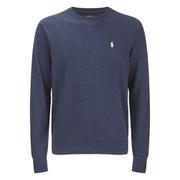 Polo Ralph Lauren Crew Neck Rib Sweatshirt - Winter French Navy