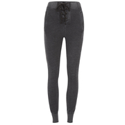Wildfox Women's Football Sweats Sweatpants - Dirty Black