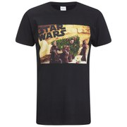 Star Wars Men's Jawas Christmas Tree T-Shirt - Black