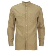 Universal Works Men's Poplin Stoke Shirt - Camel