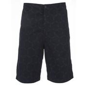 Universal Works Men's Loose Tile Poplin Shorts - Navy