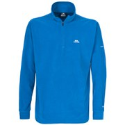 Trespass Men's Masonville AirTrap100 1/2 Zip Fleece Jumper - Electric Blue