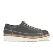 Grenson Men's Inigo Suede Lace-up Shoes - Midnight