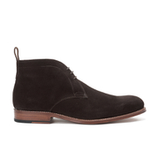 Grenson Men's Marcus Suede Desert Boots - Chocolate