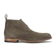 Grenson Men's Marcus Suede Desert Boots - Almond