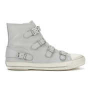 Ash Women's Virgin Nappa Wax Hi-Top Trainers - Marble