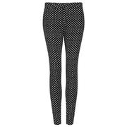 Diane von Furstenberg Women's Genesis Trousers - Black/Ivory/Black