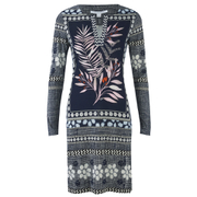 Diane von Furstenberg Women's Reina Dress - Leaf Print