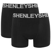 Henleys Men's 3 Pack Boxers - Black