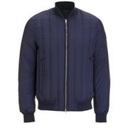 Paul Smith Jeans Men's Down Filled Bomber Jacket - Indigo