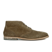 H Shoes by Hudson Men's Houghton 3 Suede Desert Boots - Tobacco