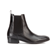 H Shoes by Hudson Men's Watts Calf Leather Chelsea Boots - Black