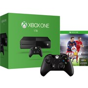 Xbox One 1TB Console - Includes FIFA 16 & Extra Wireless Controller