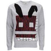 McQ Alexander McQueen Men's Geometric Bunny Sweatshirt - Steel Grey