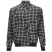 McQ Alexander McQueen Men's Harrington Bomber Jacket - Dark Black Mid Square