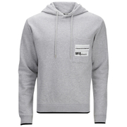 McQ Alexander McQueen Men's Pocket Clean Hoody - Steel Grey