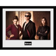 Doctor Who Guitar Iconic - 16 x 12 Inches Framed Photographic