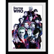 Doctor Who Cosmos - 16 x 12 Inches Framed Photographic