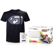Nintendo 3DS XL White + Mario Kart 7 Pack