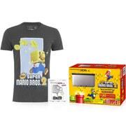Nintendo 3DS XL Silver/Black + New Super Mario Bros. 2 Pack