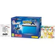 Nintendo 3DS XL Blue/Black + Pokémon X Pack