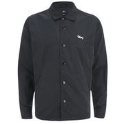 OBEY Clothing Men's Title Coach Jacket - Blue