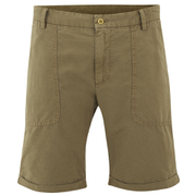 GANT Rugger Men's Canvas Shorts - Army Green