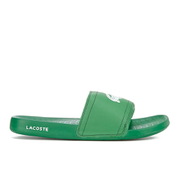 Lacoste Men's Frasier Slide Sandals - Green