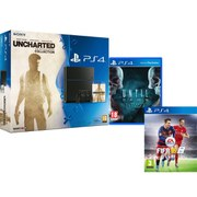 Sony PlayStation 4 500GB Console - Includes Uncharted: The Nathan Drake Collection, Until Dawn: Extended Edition & FIFA 16