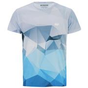 Myprotein Men's Geometric Printed Training Shirt - Light Blue