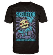 Master of the Universe Skeletor Pop! T-Shirt - Black