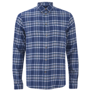 Paul Smith Jeans Men's Tailored Fit Check Shirt - Blue