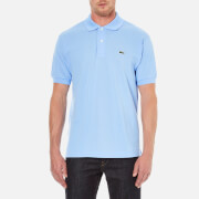 Lacoste Men's Short Sleeve Pique Polo Shirt - Nattier Blue