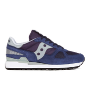 Saucony Men's Shadow Original Trainers - Navy/Grey