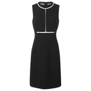 Alexander Wang Women's Fitted Sheath Dress with Suspended Fishline Detail - Onyx