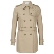 REDValentino Women's Bullseye Back Trench Coat - Beige