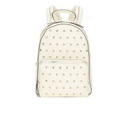 REDValentino Women's Eyelet Backpack - White