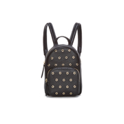 REDValentino Women's Mini Eyelet Backpack - Black