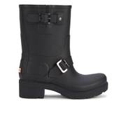 Hunter Women's Original Biker Boots - Black