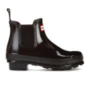 Hunter Women's Original Gloss Chelsea Boots - Black