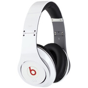 Beats by Dr. Dre: Studio Noise Cancelling Headphones - White - Manufacturer Refurbished