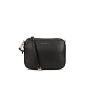 Coccinelle Women's Leather Zip Cross Body Bag - Black