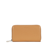 Coccinelle Women's Leather Zip Around Purse Light - Tan