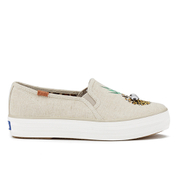 Keds Women's Triple Decker Googly Eyes Slip On Trainers - Natural