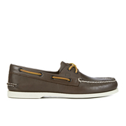 Sperry Men's A/O 2-Eye Leather Boat Shoes - Classic Brown
