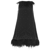 French Connection Women's Embellished Party Dress - Black