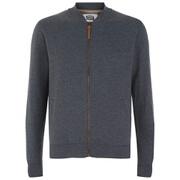 Smith & Jones Men's Brewer Zipped Sweatshirt - Navy