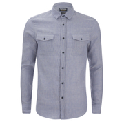 Barbour International Men's Archie Long Sleeve Shirt - Blue