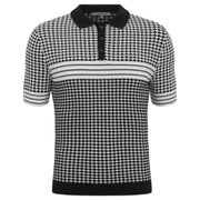 Carven Men's Knitted Polo - Black
