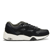 Puma Men's Running R698 Citi Series Low Top Trainers - Black/Vaporous Grey